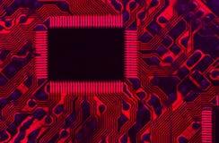 красный цвет данным по хайвея горячий Стоковое Изображение RF