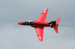 красный цвет двигателя стрелки Стоковое Фото