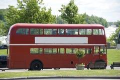 красный цвет двойника decker шины Стоковые Изображения RF