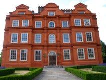 красный цвет дворца kew здания кирпича Стоковые Фото