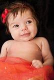 красный цвет девушки младенческий Стоковые Фото