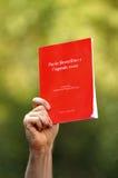 красный цвет дневника Стоковое Фото