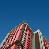красный цвет дома Стоковые Изображения RF