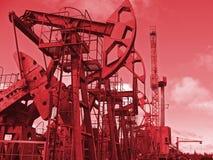 красный цвет дохода Стоковое Фото