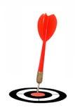 красный цвет дротика Стоковые Фотографии RF