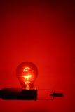 красный цвет заречья светлый Стоковые Фотографии RF