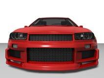 красный цвет зверя Стоковое фото RF