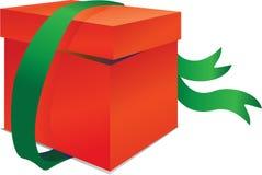 красный цвет зеленого цвета коробки полосы Стоковые Фото