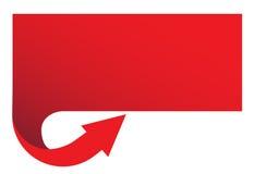 красный цвет знамени иллюстрация штока