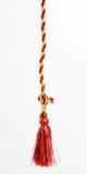 красный цвет золота шнура Стоковая Фотография