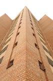 красный цвет здания кирпича Стоковые Изображения RF