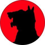красный цвет изверга Стоковое фото RF