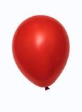красный цвет изолированный воздушным шаром Стоковое Изображение RF