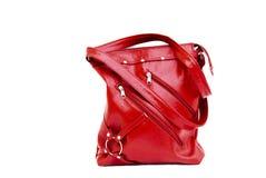 красный цвет изолированный мешком Стоковые Фото