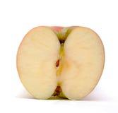 красный цвет изолированный яблоком Стоковое Изображение