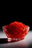 красный цвет икры Стоковое Фото