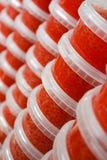 красный цвет икры Стоковые Фото