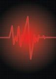 красный цвет ИМПа ульс Стоковая Фотография RF