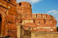 красный цвет Индии форта agra Стоковая Фотография RF