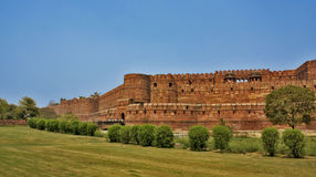 красный цвет Индии форта agra Стоковые Изображения