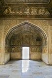 красный цвет Индии форта burj agra musamman Стоковая Фотография