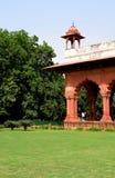 красный цвет Индии форта delhi старый Стоковые Фото