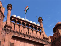 красный цвет Индии форта delhi Стоковое Изображение RF