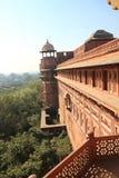 красный цвет Индии форта delhi Стоковая Фотография