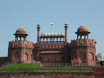 красный цвет Индии форта delhi Стоковые Фотографии RF
