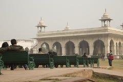 красный цвет Индии форта Стоковое Изображение RF