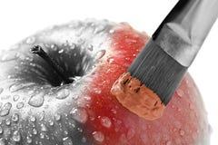 красный цвет искусства Стоковое фото RF