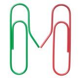 Красный цвет и зеленый цвет изолированные над хлопами белизны держа руки Стоковые Фото
