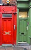 Красный цвет и зеленый цвет Стоковое Изображение RF