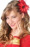Красный цвет и золото стоковая фотография