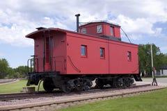 красный цвет камбуза стоковая фотография