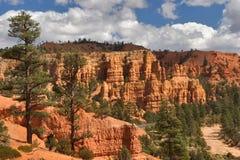 красный цвет каньона Стоковое Фото