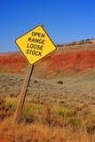 красный цвет каньона Стоковая Фотография RF