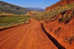 красный цвет каньона Стоковые Изображения