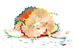 красный цвет карандаша голубого зеленого цвета брея желтый цвет Стоковые Фотографии RF