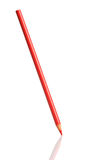 красный цвет карандаша Стоковое Фото