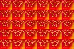 красный цвет картины рождества Иллюстрация вектора
