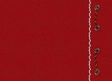красный цвет карточки оплетки Стоковые Изображения RF