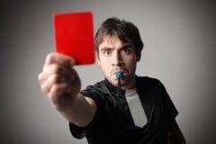 красный цвет карточки Стоковые Фото