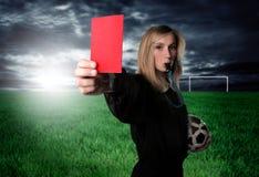 красный цвет карточки Стоковые Фотографии RF