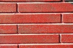 красный цвет кирпича Стоковая Фотография