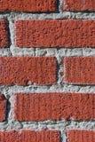 красный цвет кирпичей Стоковые Изображения