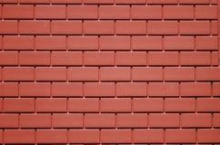 красный цвет кирпичей Стоковая Фотография