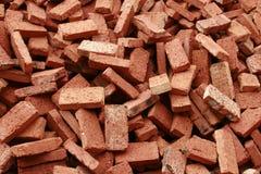красный цвет кирпичей Стоковая Фотография RF