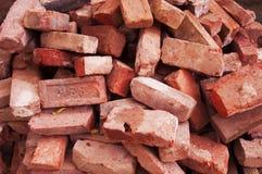 красный цвет кирпичей Стоковые Фото