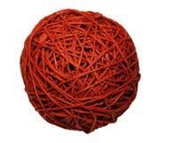 красный цвет клубока Стоковое Фото